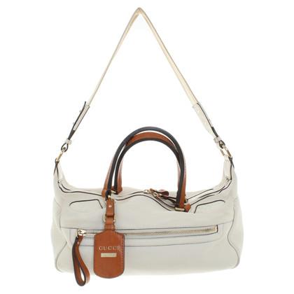 Gucci Leather handbag in cream
