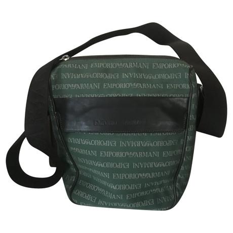 Günstig Kaufen Footlocker Finish Günstig Kaufen Best Pick Armani Tasche in Grün Grün Spielraum Wirklich Rabatt Authentisch Billig Verkauf Manchester Großer Verkauf HibHd3hy