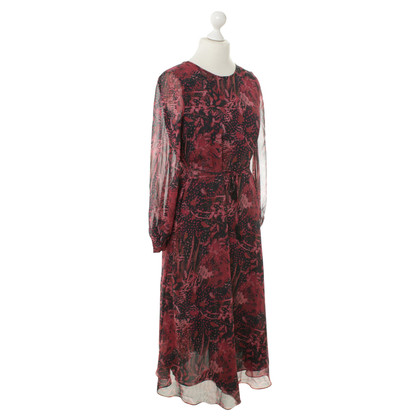 Iro Silk dress with pattern