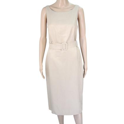 L.K. Bennett zijden jurk in Beige