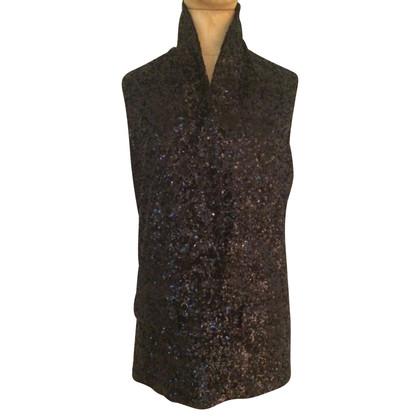 Halston Heritage Waistcoat with sequins