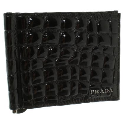 Prada Purse made of crocodile leather