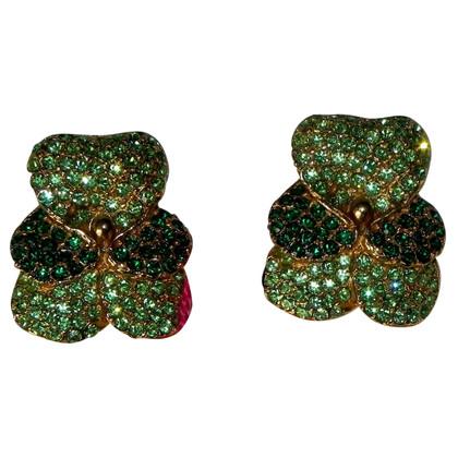 Kenzo Vintage Clip Earrings