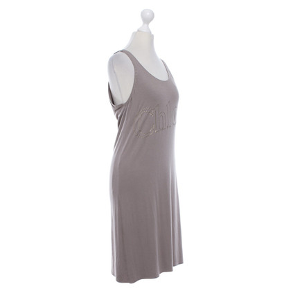 Chloé Jersey dress in taupe