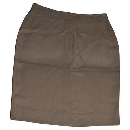Rena Lange herringbone skirt