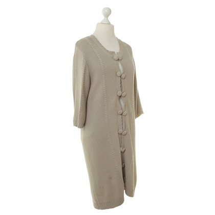 Day Birger & Mikkelsen Knitted coat in dark beige
