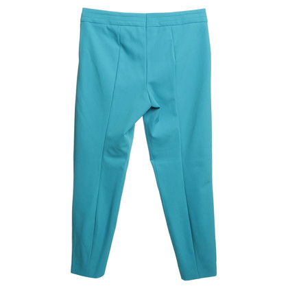 Escada Turquoise color trousers