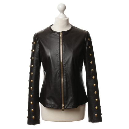 Ambiente Leather jacket in black