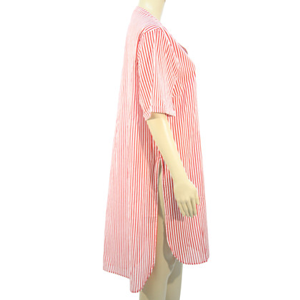 Michael Kors Striped tunic in red