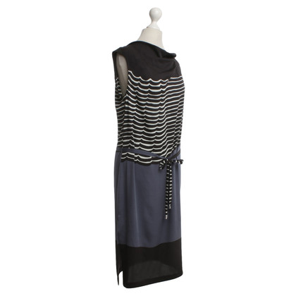 Diane von Furstenberg Silk dress with striped pattern