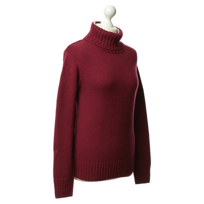 Aigle Strickpullover in Bordeaux