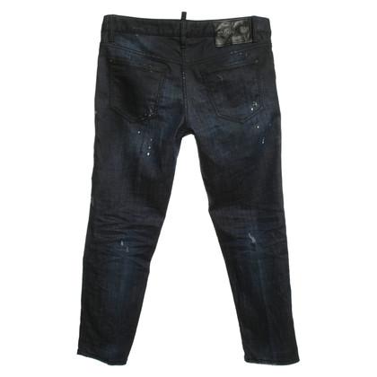 Dsquared2 jeans vernietigd
