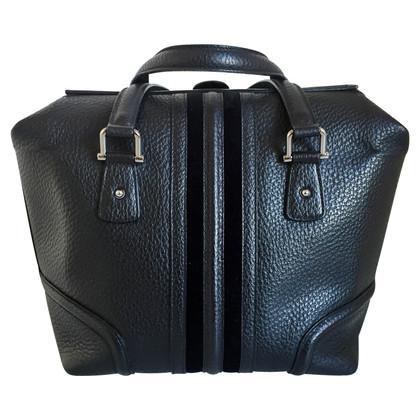 Gucci Zwarte lederen handtas