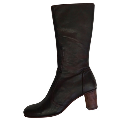 Costume National Bottes en cuir
