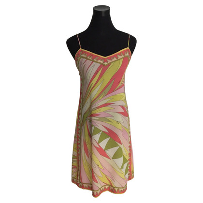 Emilio Pucci Strap dress with pattern