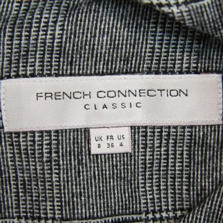 French Connection Kariertes Kleid Grau Verkauf Sast Footlocker Finish Online Billig Zum Verkauf KUeEVFJV
