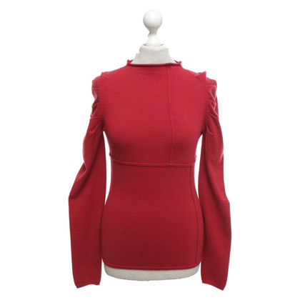 Allude Sweater in rood