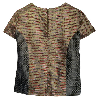 Matthew Williamson Camicia in aspetto metallico