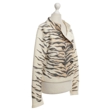 Marc Cain JACKET WITH ANIMAL PRINT