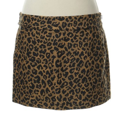 3.1 Phillip Lim Mini rok in de Leo-print
