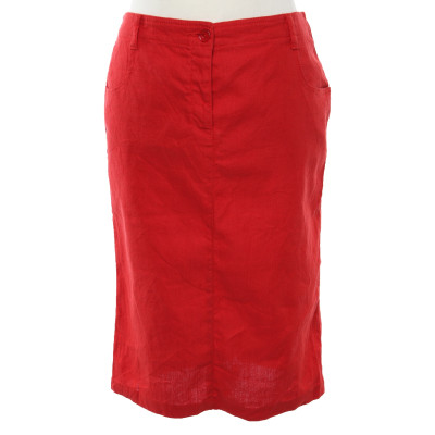 7f3c576d7205 Givenchy Rock aus Wolle in Rot - Second Hand Givenchy Rock aus Wolle ...