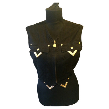 Gianni Versace Gilet in denim vintage
