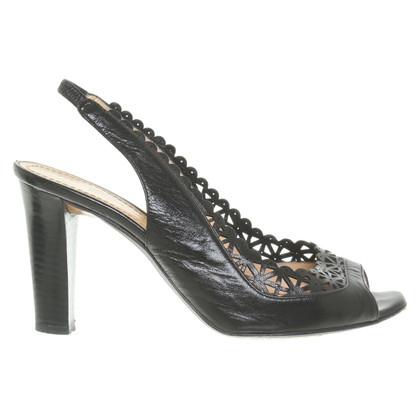 Pollini Sandals in zwart