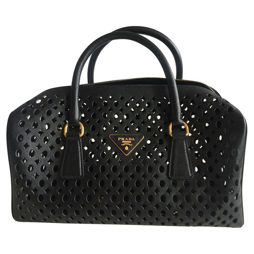 Prada Bowling Bag Limited Edition - Second Hand Prada Bowling Bag ... 09cc21ff28378