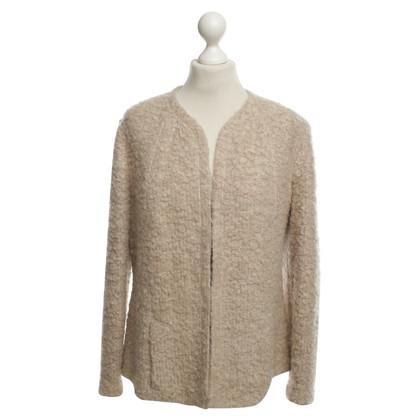 Riani Crème-kleurige wol blazer