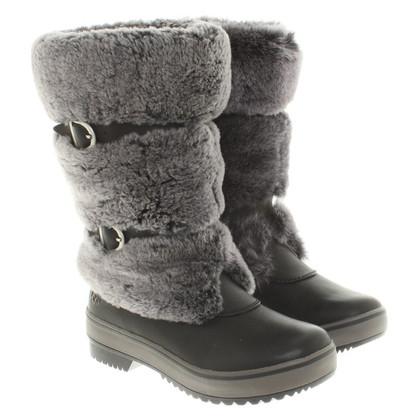 UGG Australia Boots with fur trim