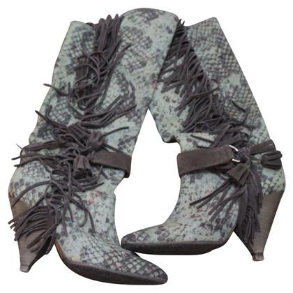 Isabel Marant stivali con frange