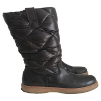 Moncler Dark brown Moncler boots in 39