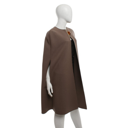 Lanvin Cape in Taupe