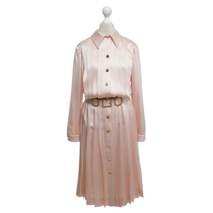 Chanel Nude colored blouse dress