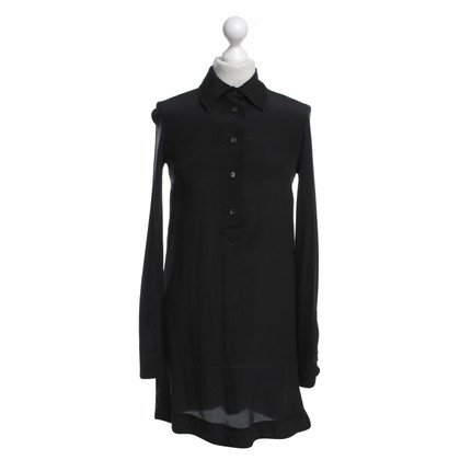 Sport Max Long blouse in black