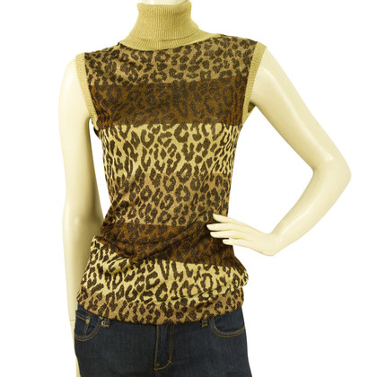 Dolce & Gabbana Top with Animal-Print
