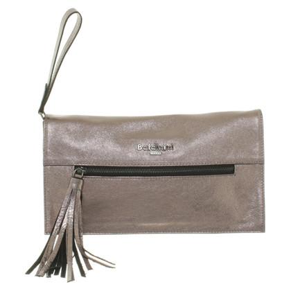 Baldinini clutch with metallic coating