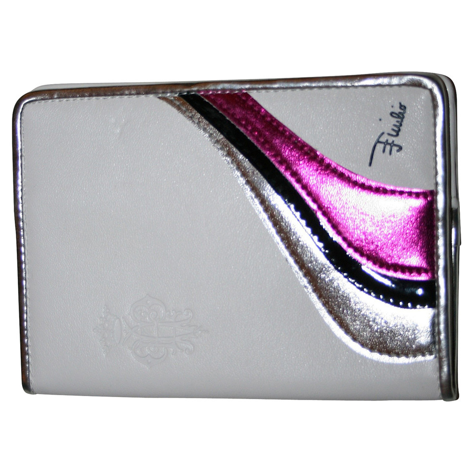 Emilio Pucci Document holder in white