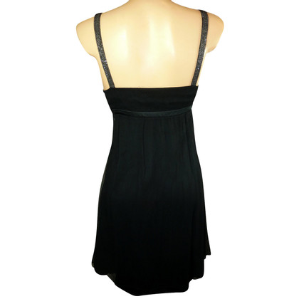 Costume National  Silk dress in black
