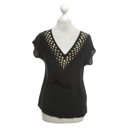 Michael Kors Top in zwart / goud