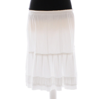 Ermanno Scervino White skirt