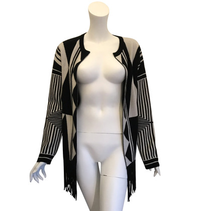 ROSA VON SCHMAUS Jacket with leather fringes