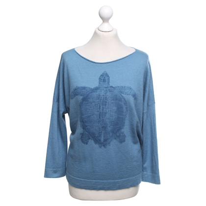 Friendly Hunting Cashmere sweater in blue