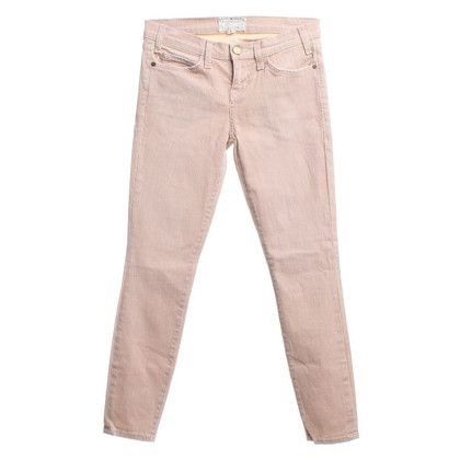 Current Elliott Pantalon rayé en vieux rose