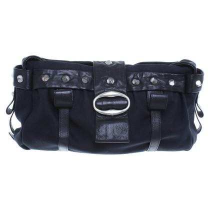 Yves Saint Laurent Black handbag with studs