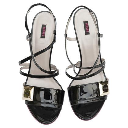 Versus Sandals in black