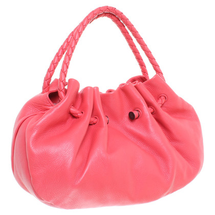 Bottega Veneta Purse in coral red
