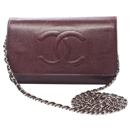 """Chanel """"Timeless Wallet On Chain"""""""