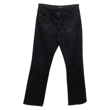 Roberto Cavalli trousers in black