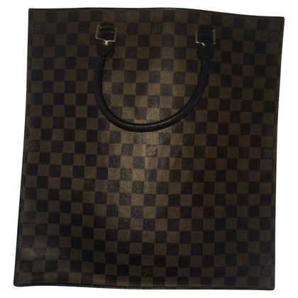 "Louis Vuitton ""Sac Plat Damier Ebene Canvas"""